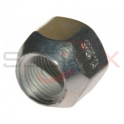 Nakrętka koła M12x1.25/19 stal srebrna